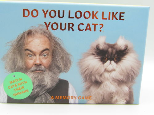 Do you look like your cat?, muistipeli, 1 kpl