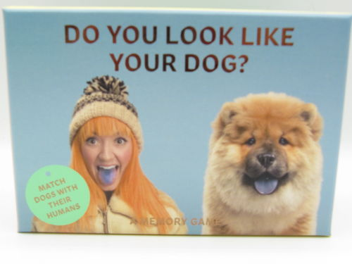 Do you look like your dog?, muistipeli, 1 kpl